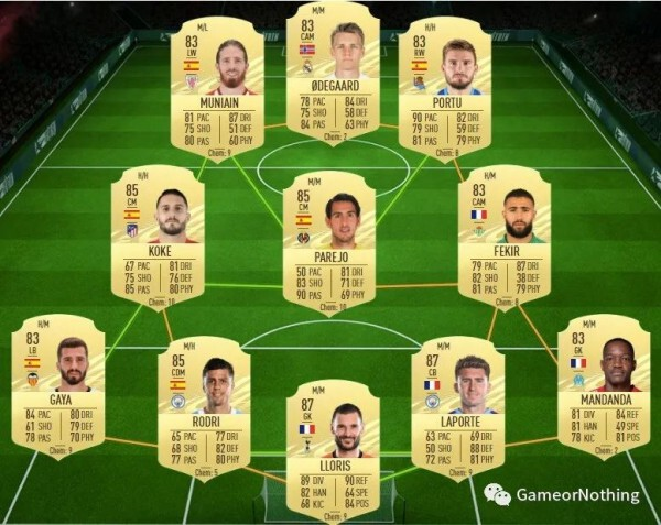 FIFA21-冰凍奧亞爾、維克托SBC作業 3
