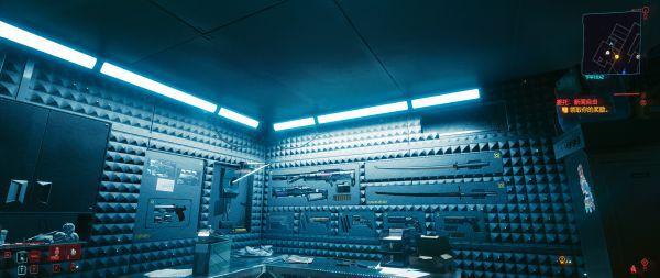 Cyberpunk2077–儲藏室展示武器入手方式及面板展示 39