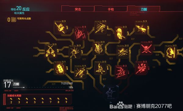 Cyberpunk2077 –刀、手槍、狙擊槍三修加點及武器選擇建議 7