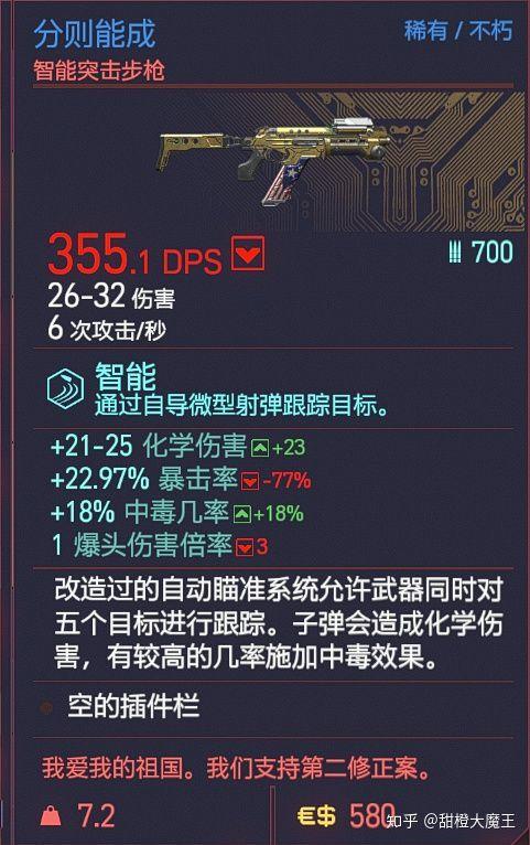 Cyberpunk2077 – 全不朽突擊步槍篇(包括精準步槍) 9