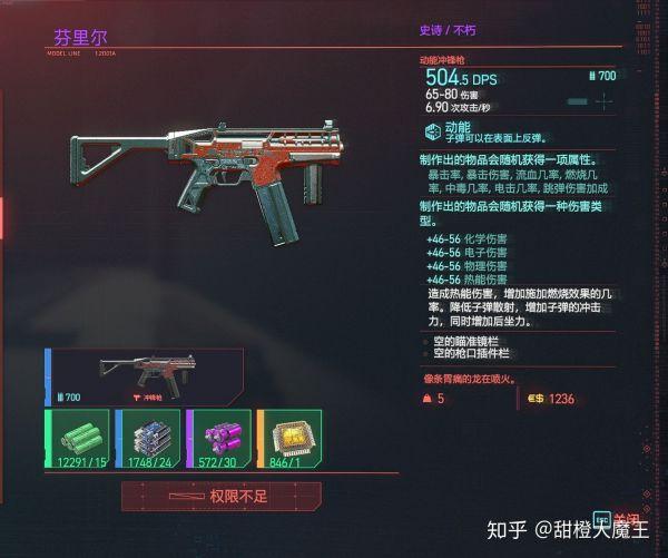 Cyberpunk2077 – 全不朽衝鋒槍篇 11