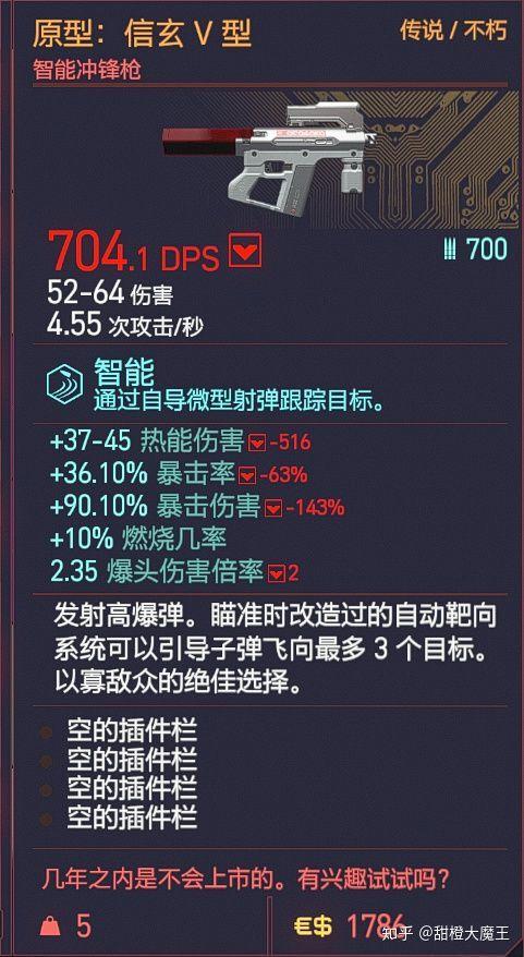 Cyberpunk2077 – 全不朽衝鋒槍篇 1