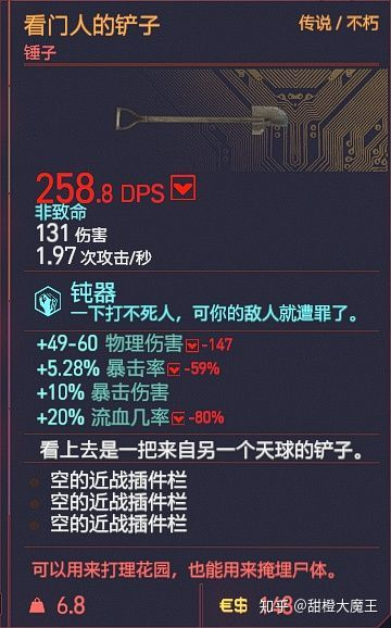 Cyberpunk2077 – 全不朽近戰武器篇 21