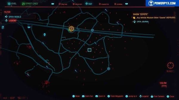 Cyberpunk2077 – 全NCPD警用頻道案件 31