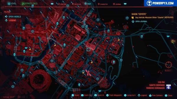 Cyberpunk2077 – 全NCPD警用頻道案件 23