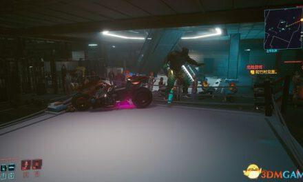 Cyberpunk2077 – 剃刀摩托車卡位邪道打法分享