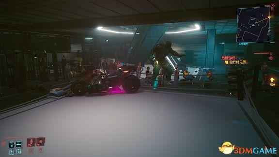 Cyberpunk2077 – 剃刀摩托車卡位邪道打法分享 1