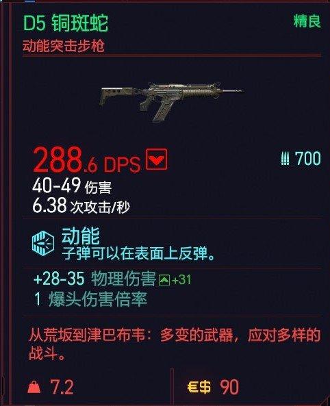Cyberpunk2077 – D5銅斑蛇特殊塗裝 5