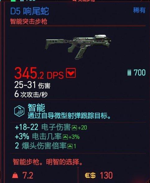 Cyberpunk2077 – D5響尾蛇特殊塗裝 5