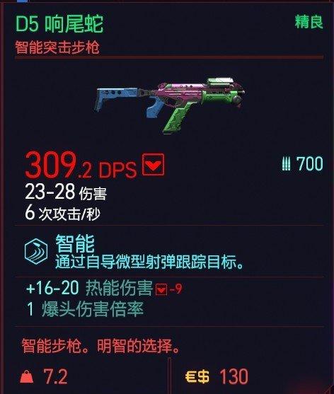 Cyberpunk2077 – D5響尾蛇特殊塗裝 9
