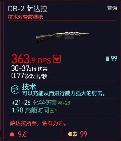 Cyberpunk2077 – DB-2薩達拉特殊塗裝 5