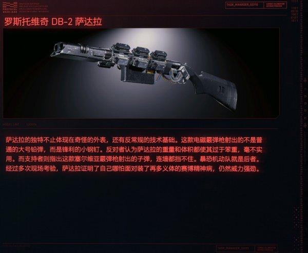 Cyberpunk2077 – DB-2薩達拉特殊塗裝 1