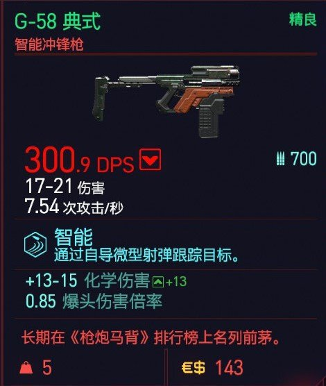 Cyberpunk2077 – G-58典式特殊塗裝 5