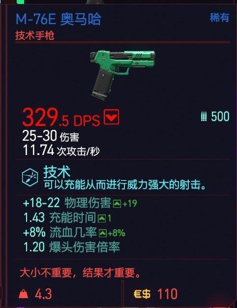 Cyberpunk2077 – M-76E奧馬哈特殊塗裝 9