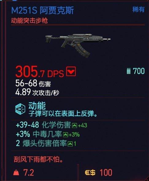 Cyberpunk2077 – M251S阿賈克斯特殊塗裝 3