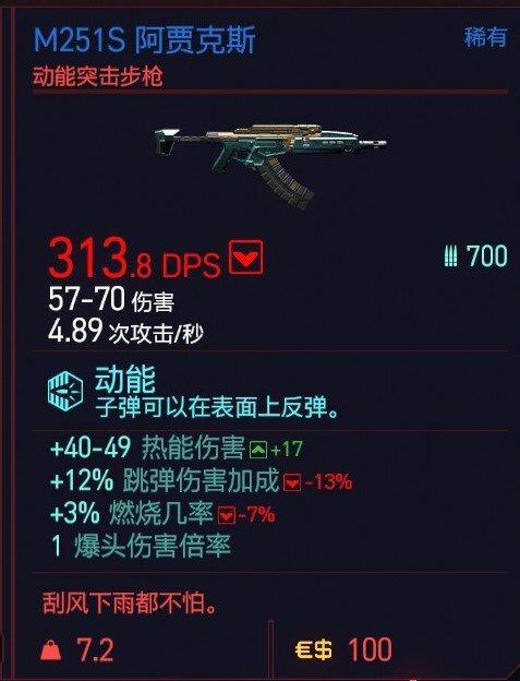 Cyberpunk2077 – M251S阿賈克斯特殊塗裝 5