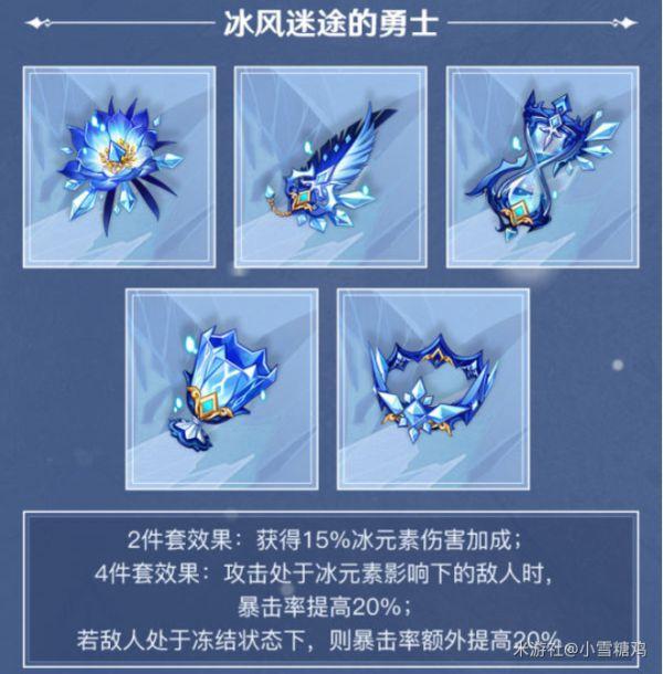 原神-1.2版新增聖遺物強度 5