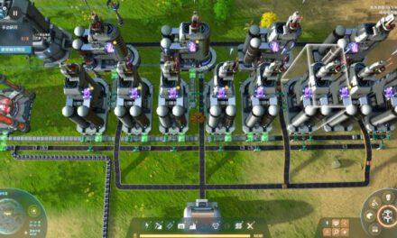 戴森球計劃-原油自循環生產氫紅塊佈局參考
