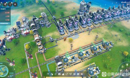 戴森球計劃-石油化工區規劃
