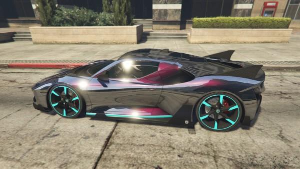 GTAOnline-車輛噴漆增加珠光效果技巧 1