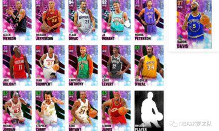 NBA2K21-銀河巴郎戴維斯全材料卡入手方式