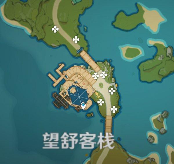 原神-1.3版本霓裳花採集地點 3
