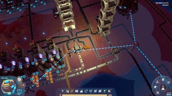 戴森球計劃-不堵料模塊化煉油廠建造思路 23