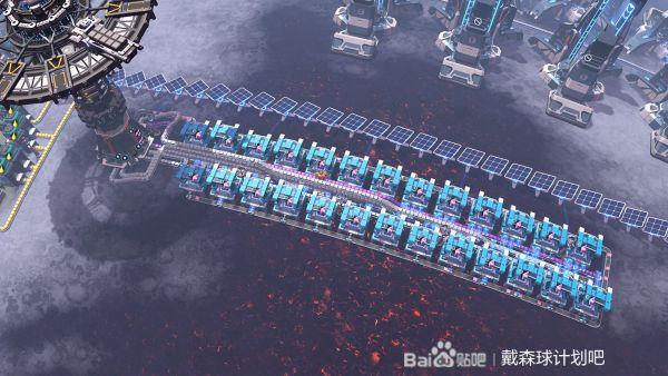 戴森球計劃-卡晶4氫帶堆疊產線佈局 5