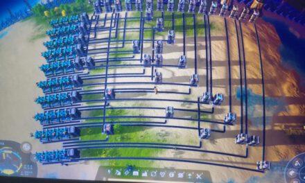 戴森球計劃-物流系統傳送帶總線規劃思路
