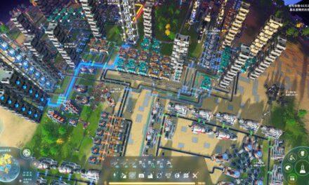戴森球計劃-生產線建造佈局
