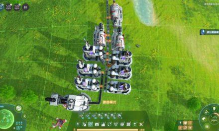 戴森球計劃-簡單油電模組