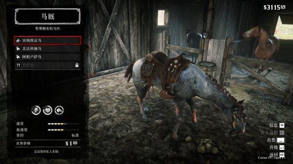 碧血狂殺2-莫弗里家族隱藏馬匹入手 47