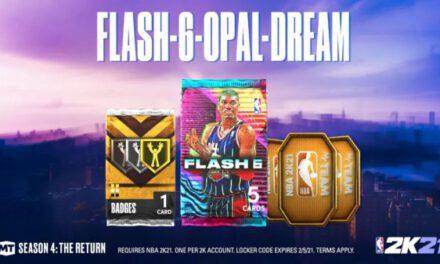 NBA2K21-Flash第六彈卡包任務