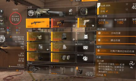 全境封鎖2-TU12全火與火體配裝