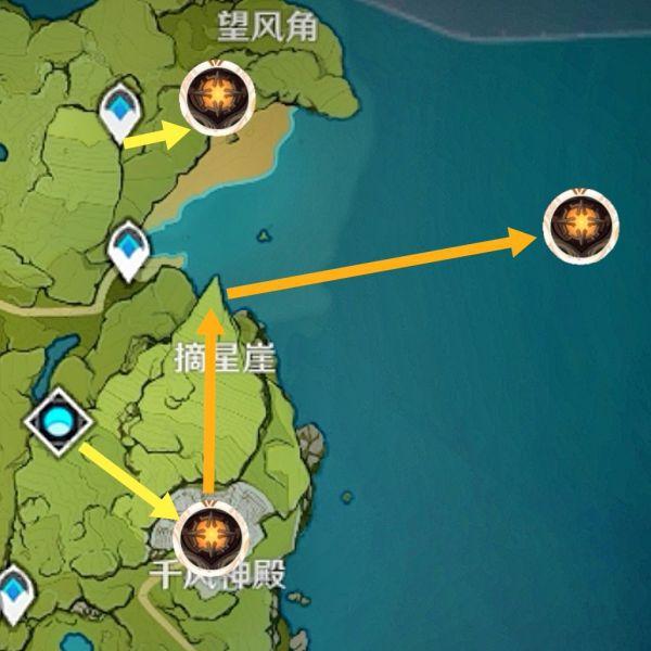 原神-全遺跡守衛討伐地點及路線 3