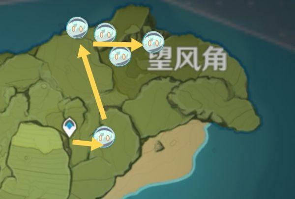 原神-史萊姆高效討伐路線 15