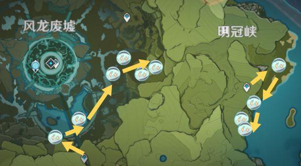 原神-史萊姆高效討伐路線 17