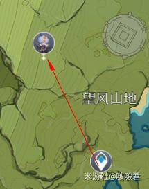 原神-大偉丘位置分享及速刷 1