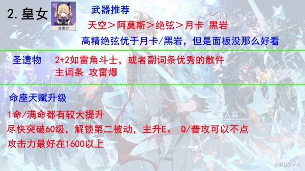 原神-感電隊陣容配置詳解 5