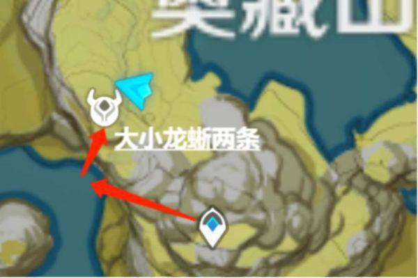 原神-每日素材快速入手地點及路線 33