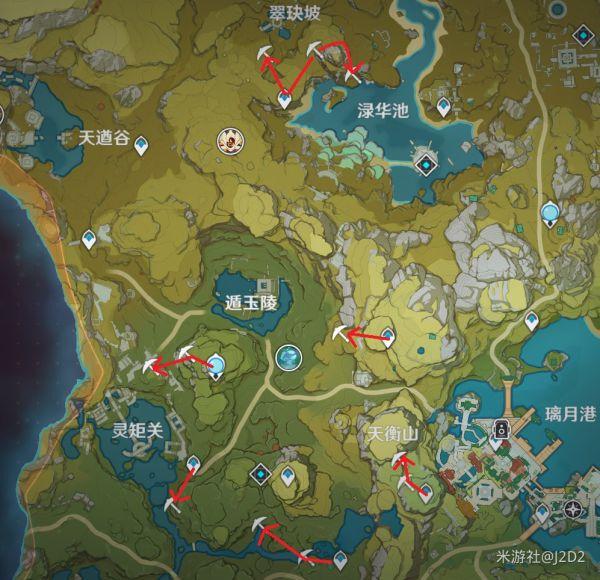 原神-高效挖礦線路 7