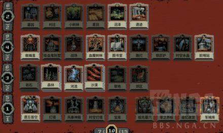 循環英雄-最高難度盜賊卡牌搭配套路