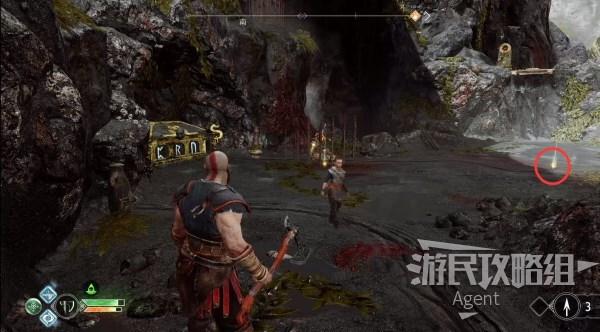 戰神4-全藏寶圖+寶藏挖出位置分享 1