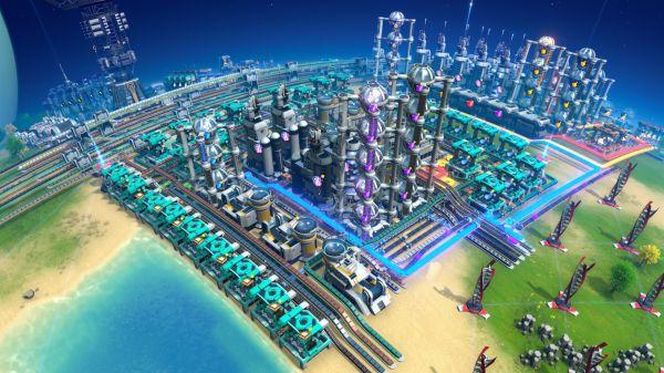 戴森球計劃-串聯式藍紫糖量化黑盒佈局參考 3