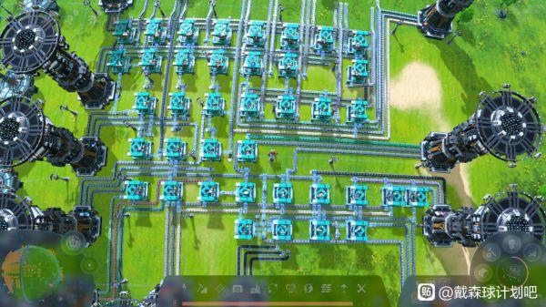 戴森球計劃-全物品超市整齊佈局 1