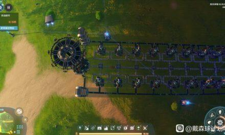 戴森球計劃-分餾塔單獨循環擺放參考