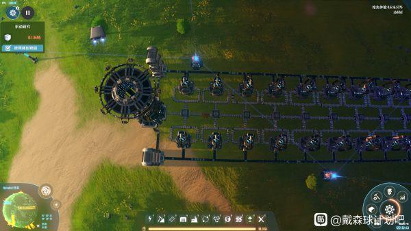 戴森球計劃-分餾塔單獨循環擺放參考 1