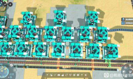 戴森球計劃-前期電磁渦輪產線佈局