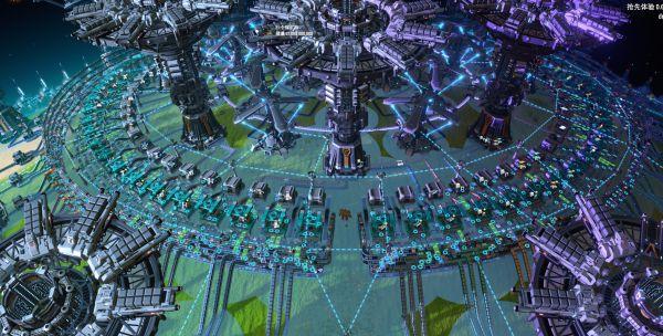 戴森球計劃-完全體極地超級工廠佈局 3