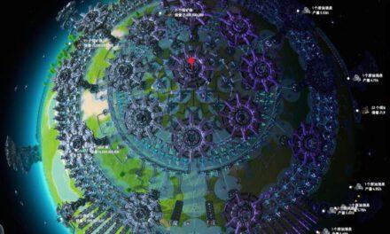 戴森球計劃-完全體極地超級工廠佈局